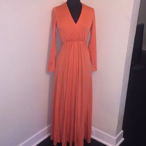 Vintage Miss Elliette Maxi Dress Size 10